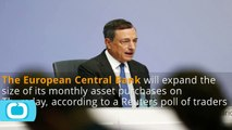 Traders Now Expect ECB to Expand QE, See Deposit Rate Cut as Certain: Reuters Poll