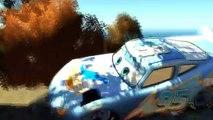 Dinoco McQueen Eighteen jumps springboards Jumps Off Roof game gta 4