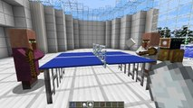 Minecraft - Table Tennis (A.K.A. Ping Pong) in one command!
