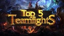 ® Top 5 Teamfights - Episode 1 (League of Legends)
