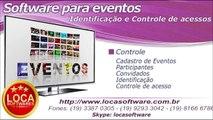software para eventos controle de acessos para eventos
