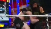 WWE Fastlane 2016 - Roman Reigns vs Brock Lesnar vs Dean Ambrose
