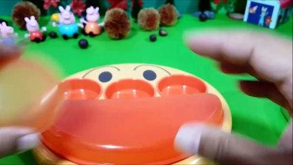 スライムとフェイスランチ皿❤アンパンマン アニメ&おもちゃ Toy Kids トイキッズ animation anpanman