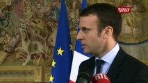 Emmanuel Macron soutient la stratégie de l'EPR
