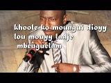 Bidew Bou Bess Belle lyrics by Malick Tine (officielle)