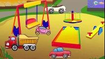 ✔  Camion, Grue pour enfants. Dessin animé voiture. Tiki Taki Camions ✔  De