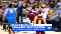 LeBron James WIPES OUT Jason Day's Wife VIDEO Emotional Lebron Speaks Out!!!!