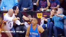 LeBron James CRUSHES Jason Day's Wife Ellie Day During Cleveland Cavaliers vs Oklahoma City Thunder!
