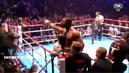 David Haye KNOCKS OUT Mark De Mori In The First Round- 131 SECONDS KO At O2 Arena!!!!