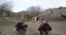 Nouveau jeu avec une chèvre au Kurdistan
