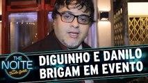 Danilo briga com Diguinho logo no primeiro The Noite de 2016