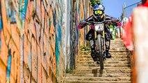 Urban Mountain Bike Racing In the Streets of Valparaíso