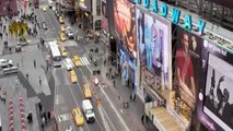 WEBCAM IN NEW-YORK CITY, USA - TIMES SQUARE, CROSSROADS (15.02.2016) (News World)