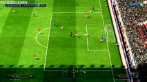Fifa online :Play match Newcastle United Vs Manchester United 10-06 -2015 Battle Ratings Game