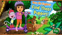 Dora The Explorer - Dora Find Those Puppies Game - Videos Games for Babies & Kids to Watch 2014 [HD]