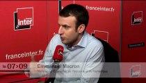 """Emmanuel Macron : """"Le but d'une loi n'est pas de plaire à Pierre, Paul, Jean ou Jacques"""""""