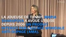 "Maria Sharapova accusée de dopage : ""J'ai fait une erreur"""