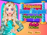 Princess Anna Elegant Hairstyles: Disney princess Frozen - Best Baby Games - Gam