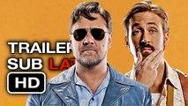 Trailer SUBTITULADO en Español LATINO | Dos Tipos Peligrosos (The Nice Guys) (HD) Ryan Gosling