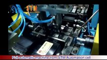 Saint Machinery STM Full automatic robot pipe end forming machine, tube pipe swaging machi