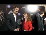 Nacho Fresneda y Aura Garrido en la presentación de 'El Ministerio del Tiempo 2'