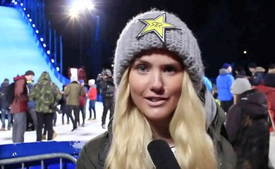 The X-Games in Oslo with the Norwegian royalty of snowboarding!