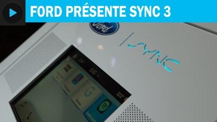 MWC 2016 : Ford présente SYNC 3