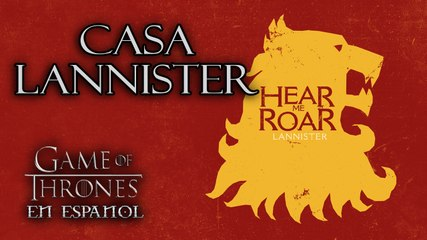 Casa Lannister | Game of Thrones