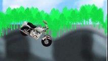 Sport moto. Des dessins animés pour enfants  Dessins Animés Pour Enfants