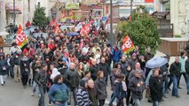Annonay : un millier de manifestants contre la loi Travail