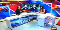 DR Shahid Masood Terms Taseer's Recovery success of Zarb-e-Azb
