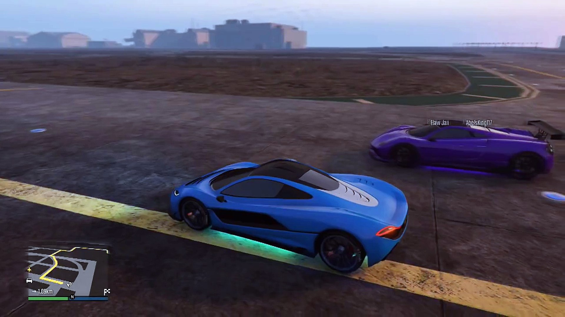 GTA 5 FASTEST CAR Progen T20 vs Osiris in GTA 5 Online! (Ill Gotten Gains  Part 2 DLC)