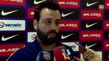 FCB Hockey: Declaraciones de Ricard Muñoz y Sergi Panadero previa partido vs CP Voltregà