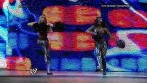 The Funkadactyls vs. Layla and Alicia Fox