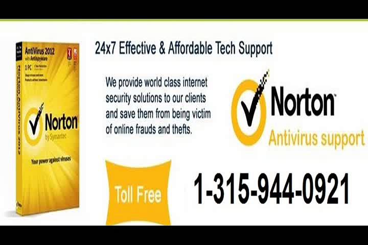norton antivirus tech support 1-315-944-0921