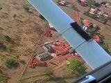 Sobrevoando a Fronteira de Minas (Flying over Fronteira de Minas - Brazil)