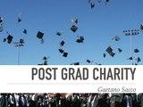 How to be Charitable as a Post Grad | Gaetano Sacco