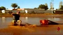 Moroccans Skimboarders - Urban Skimboard 2014 - Tchache Skimboard Band