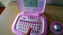 Best Pink Girls VTech My Laptop Learn AND Explore Laptop Computer Phonics Learn English Toy