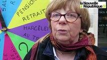 VIDEO. Tours : la roue de l'infortune pour dénoncer les inégalités hommes-femmes