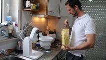 Fitness Pfannkuchen Eierkuchen zum selber machen