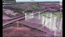 GoPro HD Hero OSD Overlay + Live Google Earth Telemetry Test