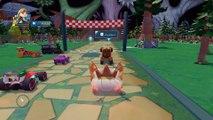 ANNA la Reine des Neiges & FLASH McQUEEN Disney Cars 2 Pixar   Dessin Animé Disney Infinity