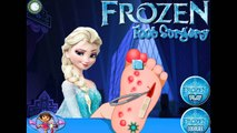 Frozen 2014 - Elsa Foot Surgery English Game for Children