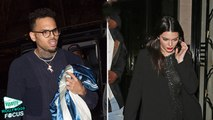 Kendall Jenner Parties Late Night With Chris Brown In Paris