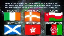 ICC T-20 world Cup 2016 Schedule Venues Format and teams India to host T-20 world cup 2016