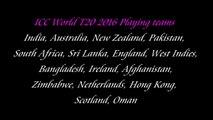 T20 World Cup 2016 In India, Schedule, Teams, Format, Venue