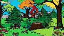 Kuckuck, kuckuck rufts aus dem Wald Cucù cucù grida dal bosco Yleekids
