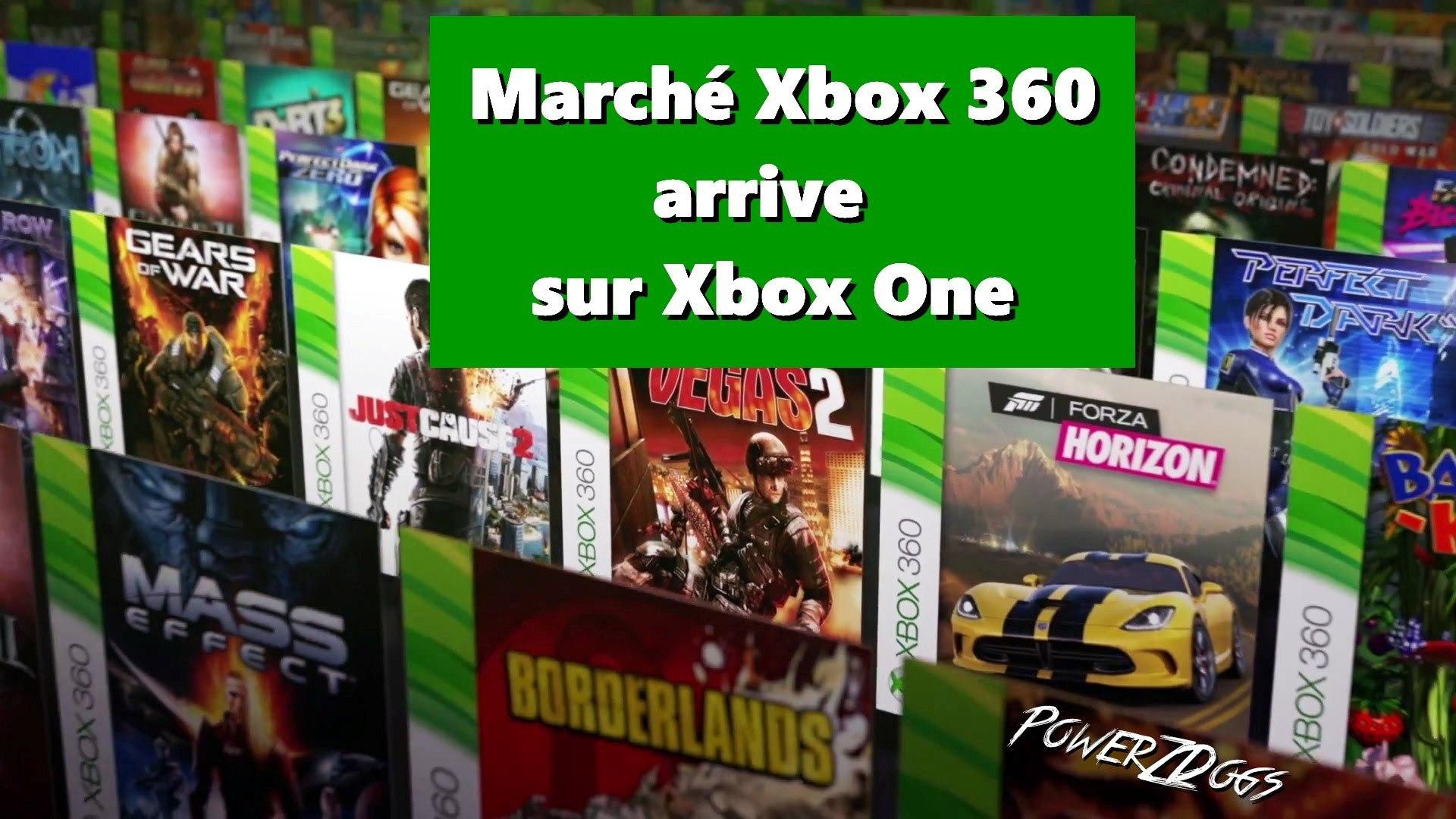 Le Marché Xbox 360 enfin sur Xbox One