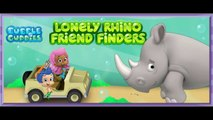 Nick jr Bubble Guppies Friend Finder Lonely Rhino Cartoon Animation Game Play Walkthrough